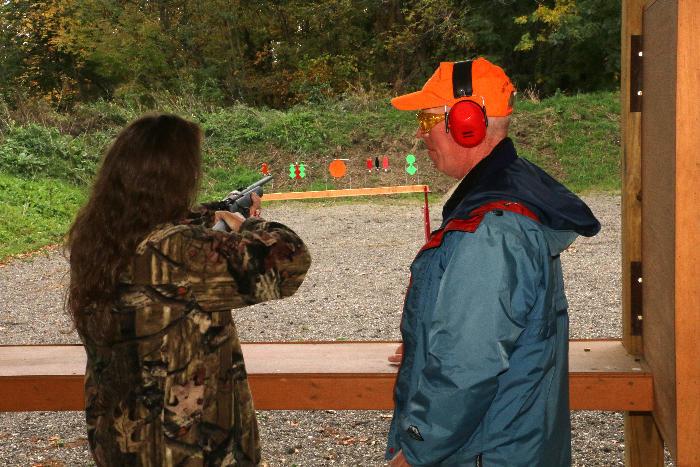 Tom - Rifle instruction
