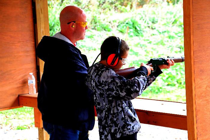 Jason - Rifle instruction